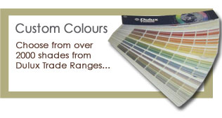 Customise the colour of your shutters - Altrincham