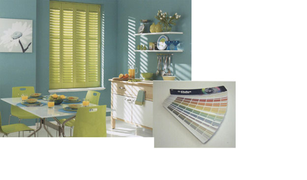Customise your Shutters Colour