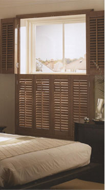 Tier On Tier Plantation Shutters Manchester